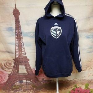 Adidas kansas City sporting hoodie